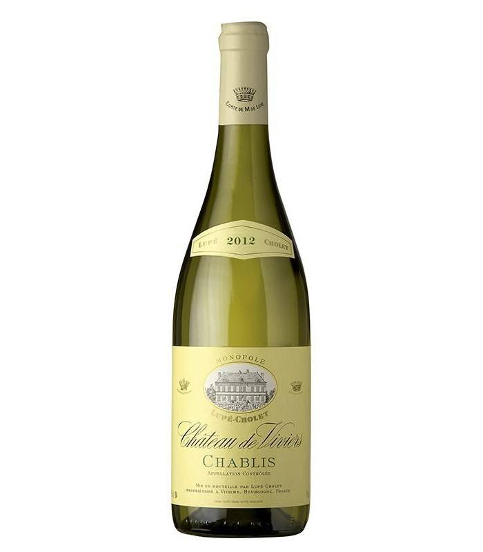 Chateau Viviers Chablis, vino blanco francés