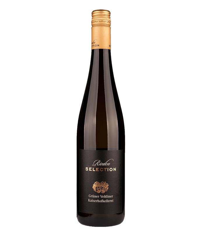 Grüner Veltliner Kaiserhofkellerei, vino blanco de Austria