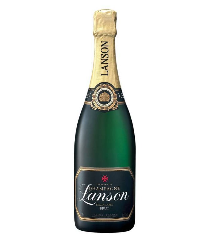 Lanson Brut Black Label, champán francés