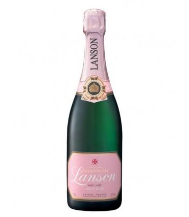 Lanson Brut Rosé Label