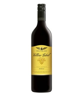 Wolf Blass Yellow Label Shiraz, tinto del Sur Australia