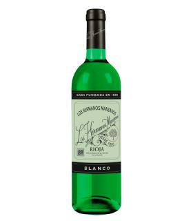 Hermanos Manzanos Blanco,vino blanco Rioja