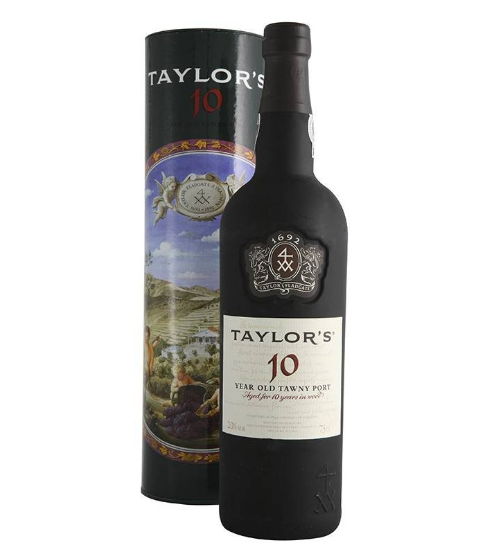 Taylor's 10 Year Old Tawny Port, vino dulce de Oporto