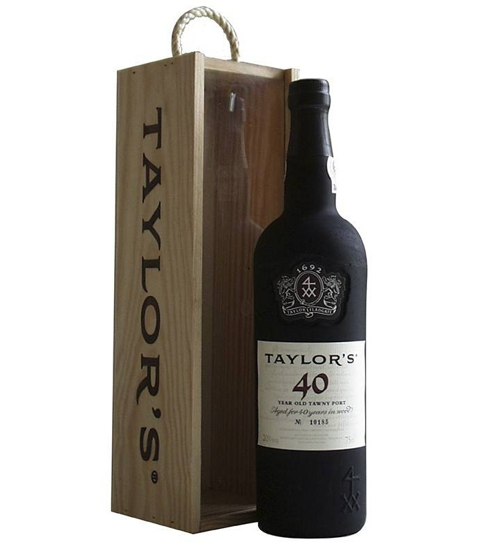 Taylor's 40 Year Old Tawny Port, vino dulce Oporto