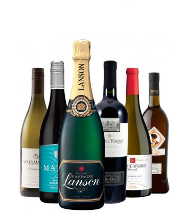 Pack Selección del Sumiller, blancos, tintos y champán