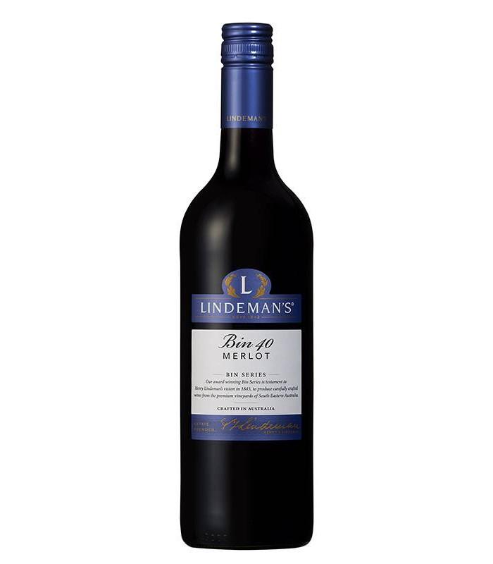 Bin 40 Merlot, tinto varietal de Australia