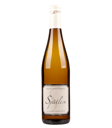 Rheinhessen Spätlese de Romanuskellerei, vino de postre alemán