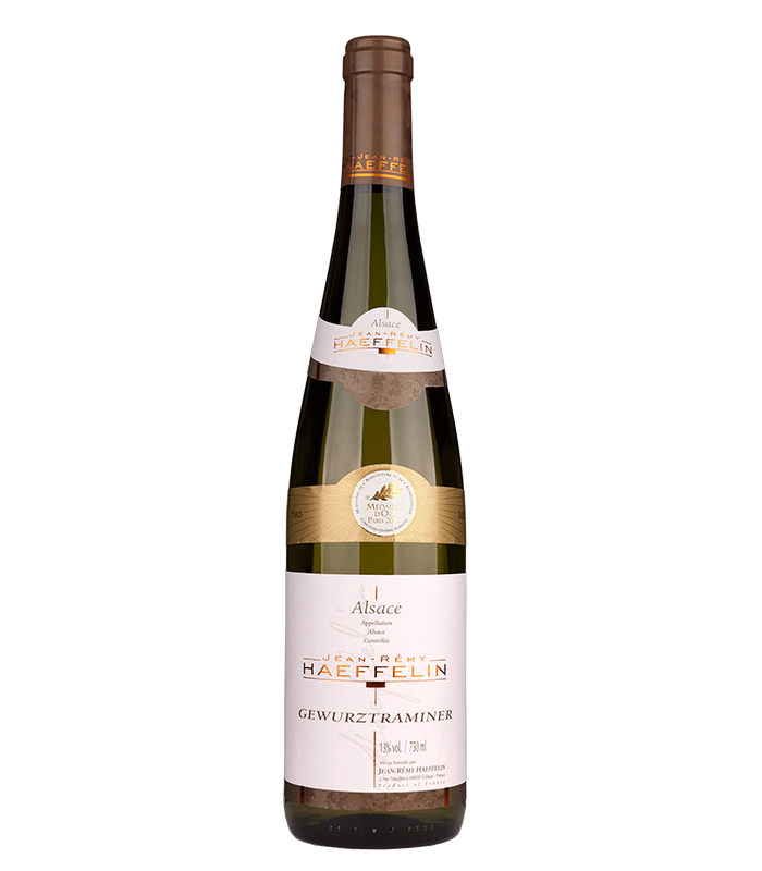 Haeffelin Gewurtzraminer Alsace, vino blanco francés