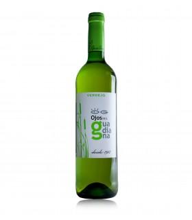 Ojos de Guadiana Verdejo, blanco de La Mancha (Bodegas El Progreso)