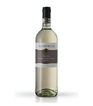 Vino blanco italiano con Gavi DOCG  Manfredi