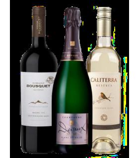 Pack Premium para 2 con Vinos Internacionales