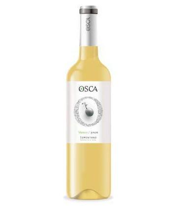 Vino blanco joven español Osca del Somontano aragonés