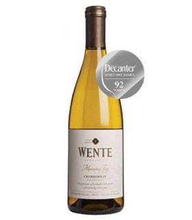 Wente Morning Fog Estate Grown Chardonnay, vino blanco california