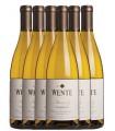 6 botellas de Wente Morning Fog Estate Grown Chardonnay