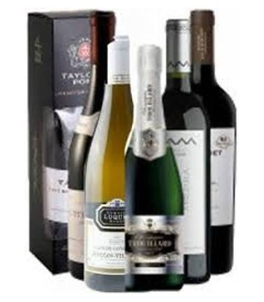 Pack DeLuxe Tinto, Blanco, Champagne y Aperitivo
