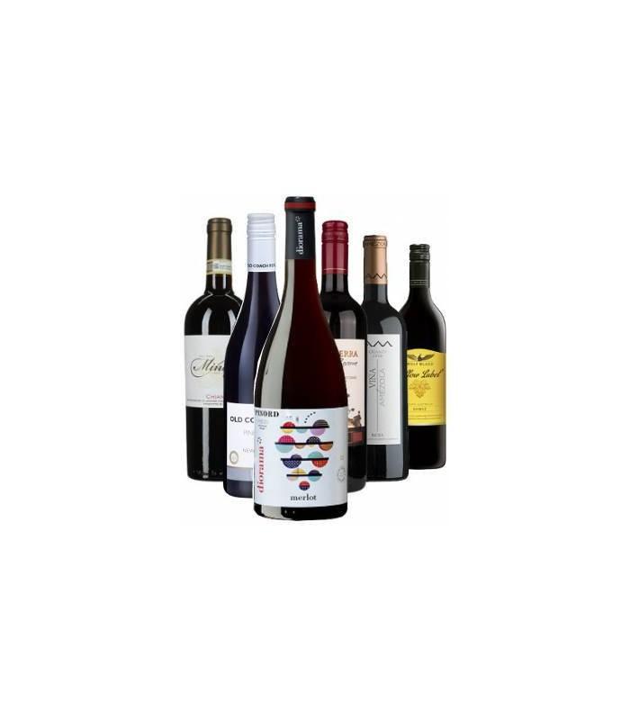 Vuelta al Mundo - Vinos tintos varietales