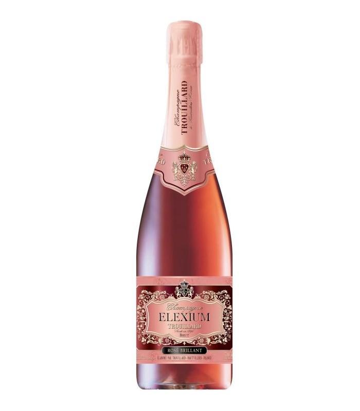 Trouillard Champagne La Cuvée Brut Elexium Rosé