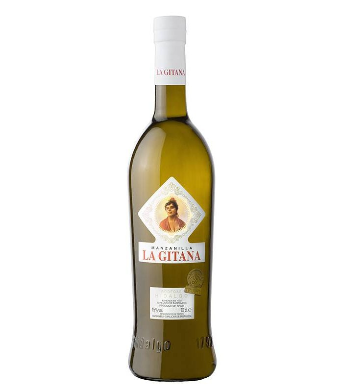 Manzanilla La Gitana, denominación Vino de Jerez