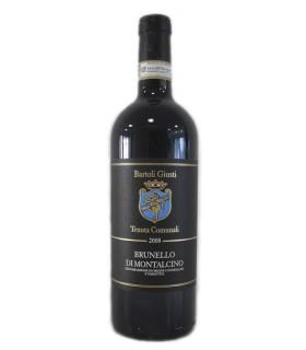 Vino de Italia Bartoli Giusti Brunello di Montalcino, denominación de la Toscana.