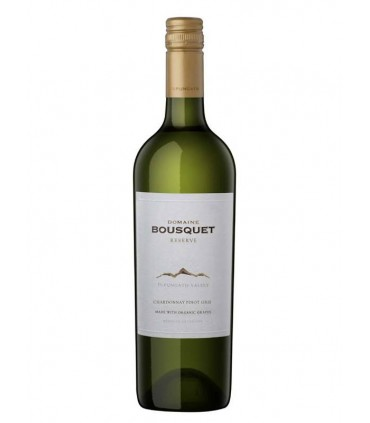 Domaine Bousquet Reserve Chardonnay Pinot Gris, blanco ecológico argentino