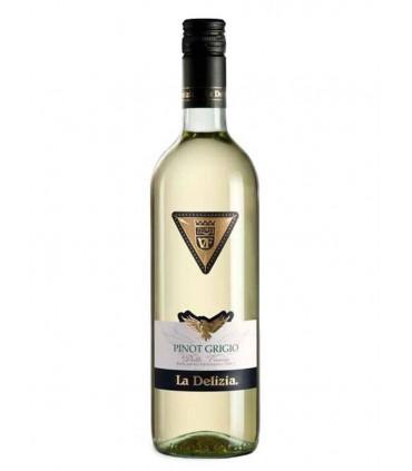 La Delizia, un vino blanco Pinot Grigio delle Venezie IGT