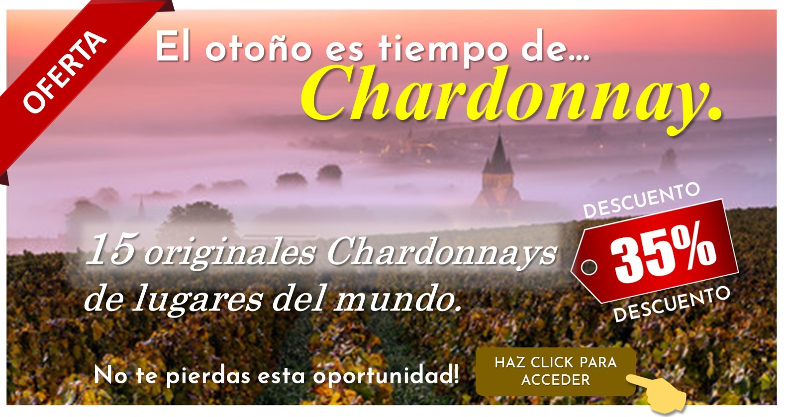 Chardonnay es para otoño