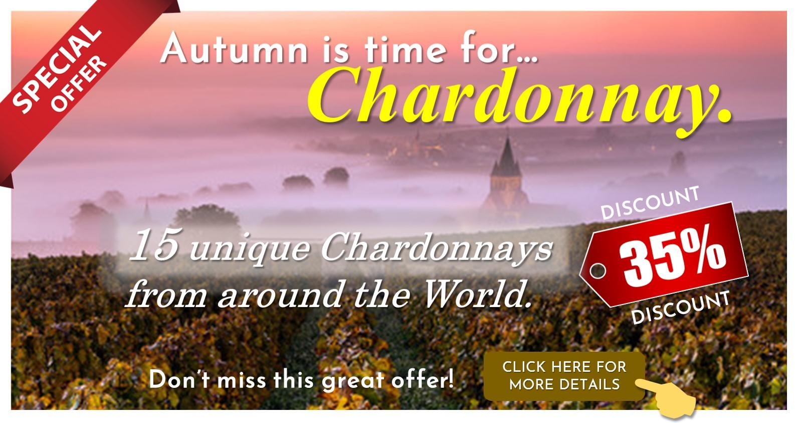 Autumn is for Chardonnay